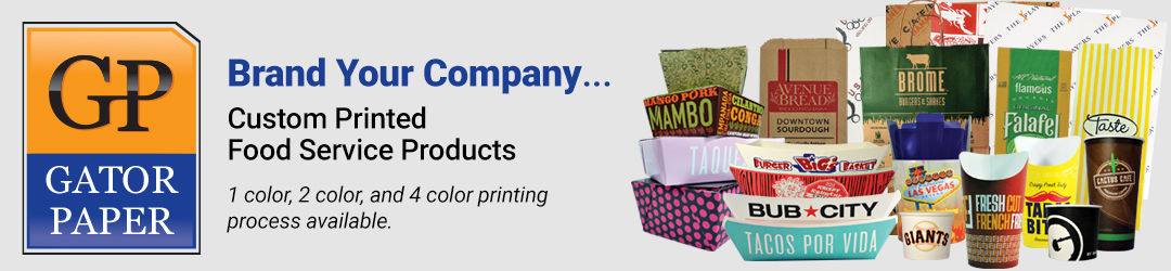 Gator Paper - Custom Printed Food Packaging Products